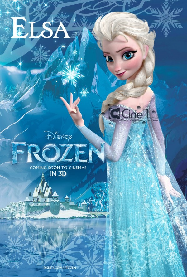 Unofficial CGI Posters Of Elsa amp Anna From Disneys FROZEN Rotoscopers
