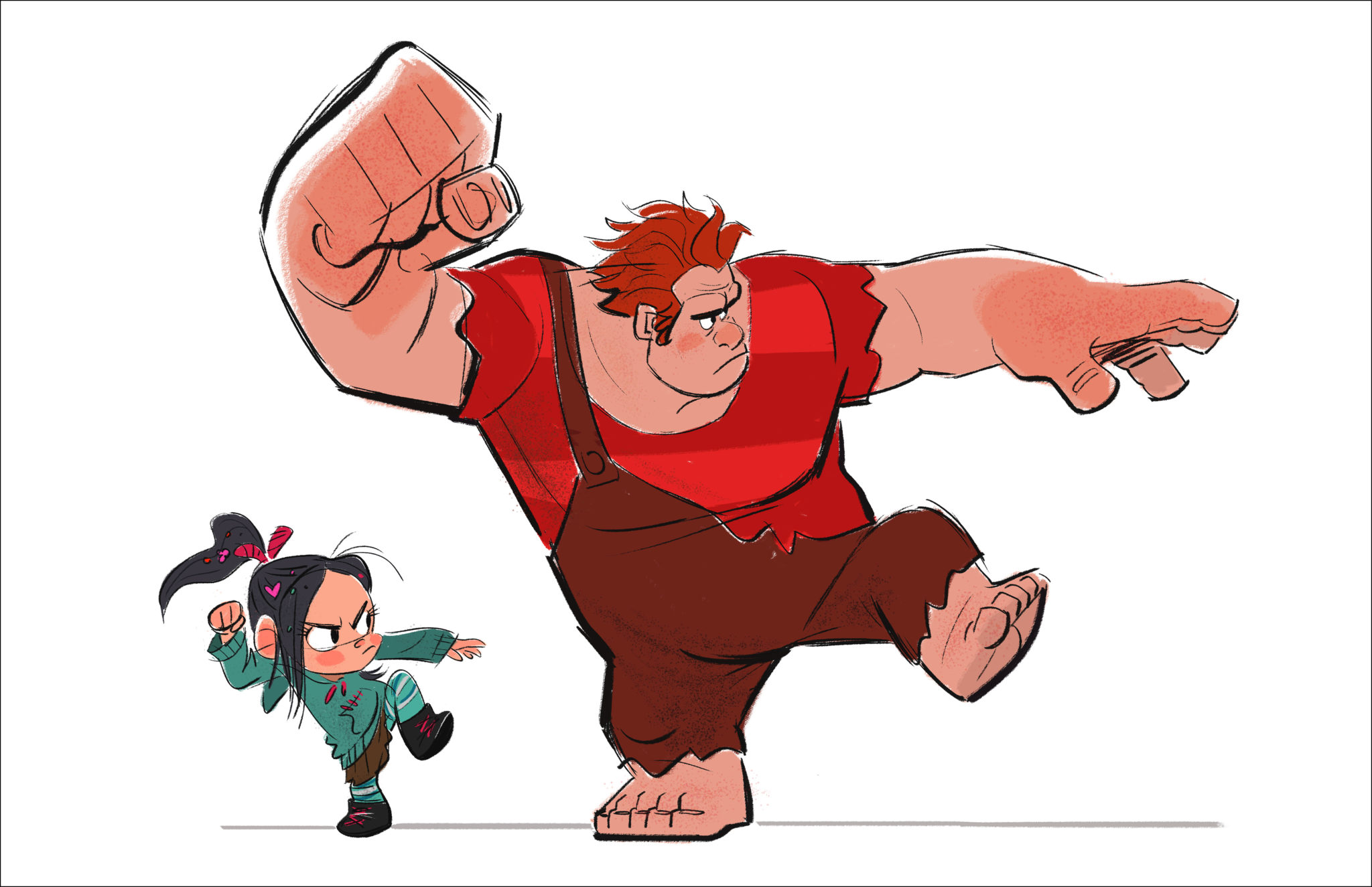 WreckIt Ralph Concept Art Released  Rotoscopers