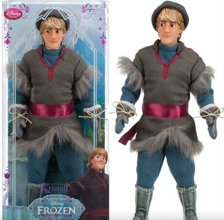 Kristoff Frozen Dolls Disney Store