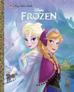 Disney Frozen Big Golden Book Cover