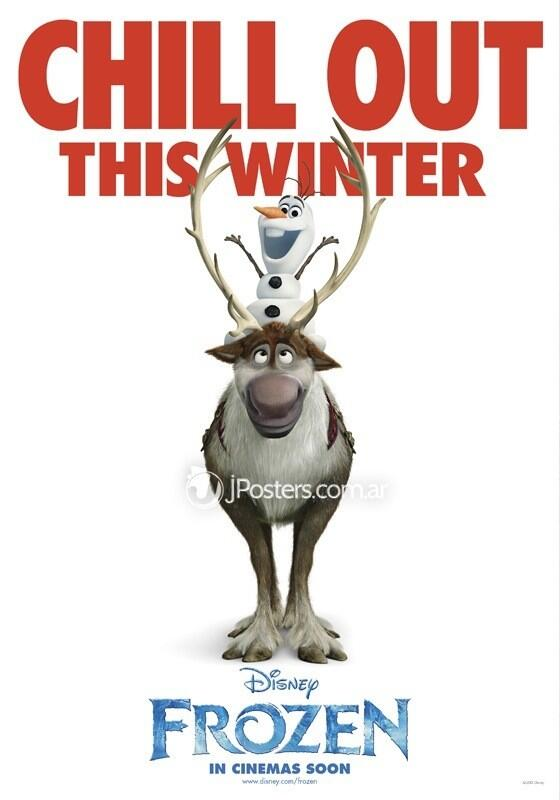 Frozen Poster Olaf Sven From Frozen Quote...