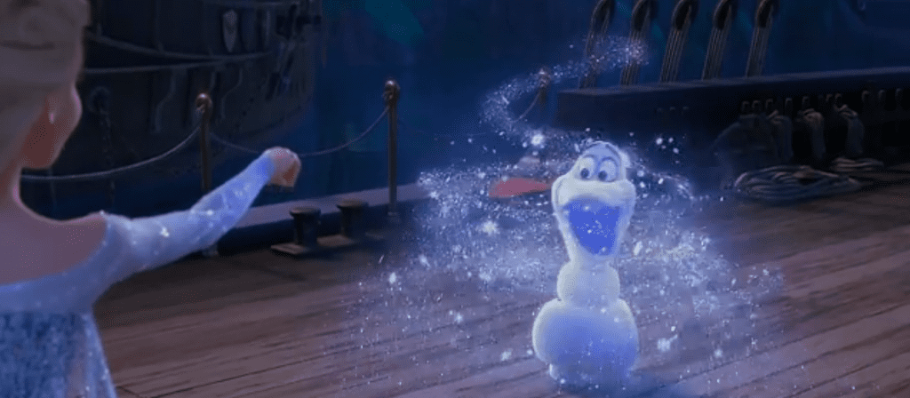 elsa-frozen-trailer-elsa-creating-olaf