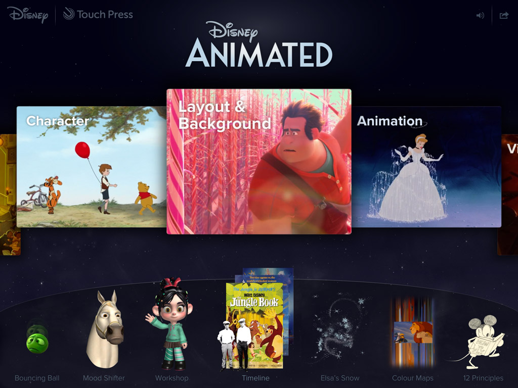app review disney animated ipad app rotoscopers disney animated 2