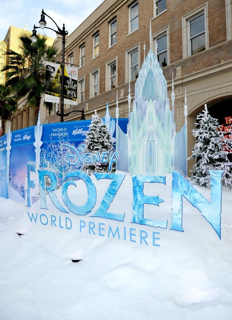 Frozen World Premiere Photos Videos Interviews