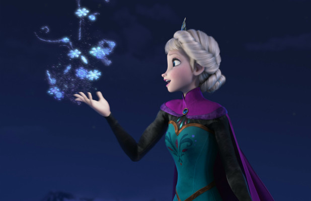 Princess Profiles Elsa Rotoscopers