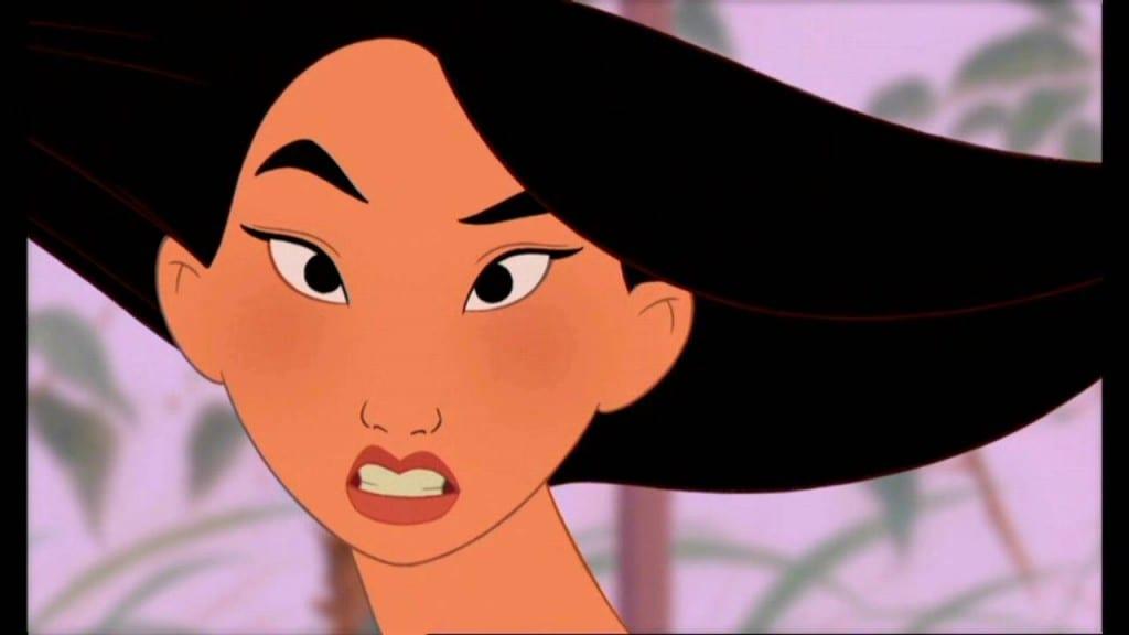 A kind of princess profile maybe mulan - Princesse mulan ...