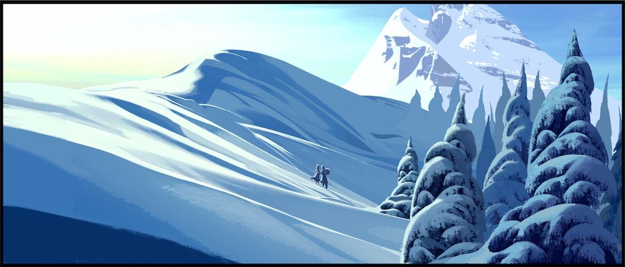 Top 10 Concept Art from Disney's 'Frozen' | Rotoscopers