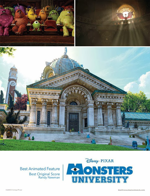 Monsters University for your consideration poster