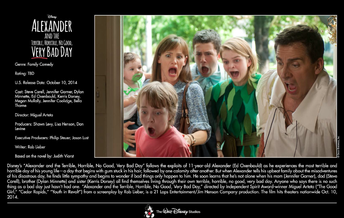 disney-2014-preview-kit-alexander and the terrible horrible very no good day