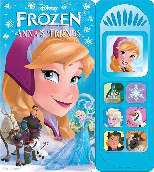 Disney Frozen Little Sound Book Cover Annas Friends