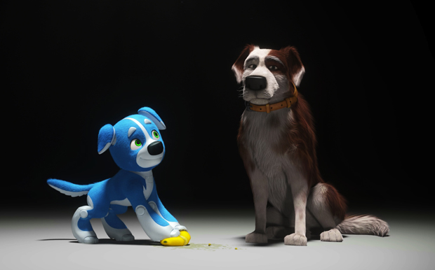 marza animation planets robodog adds ron perlman chris