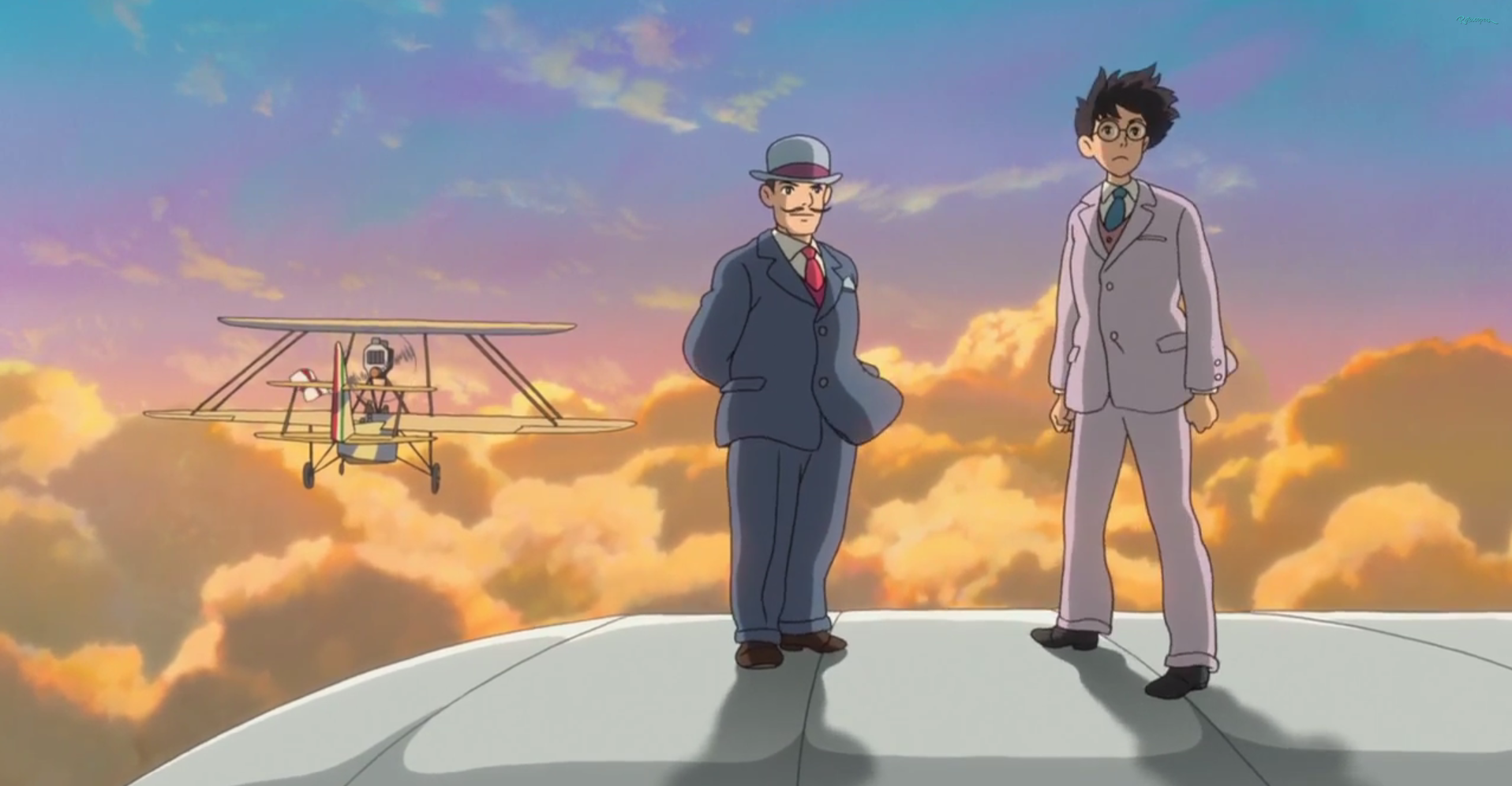 The Wind Rises Creating Planes Clip