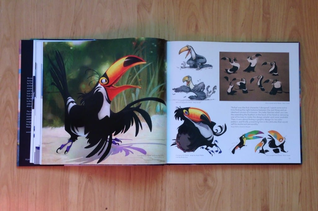 Art book review the art of rio featuring a carnival of art from rio and rio 2 rotoscopers - Rio art wohnwand ...