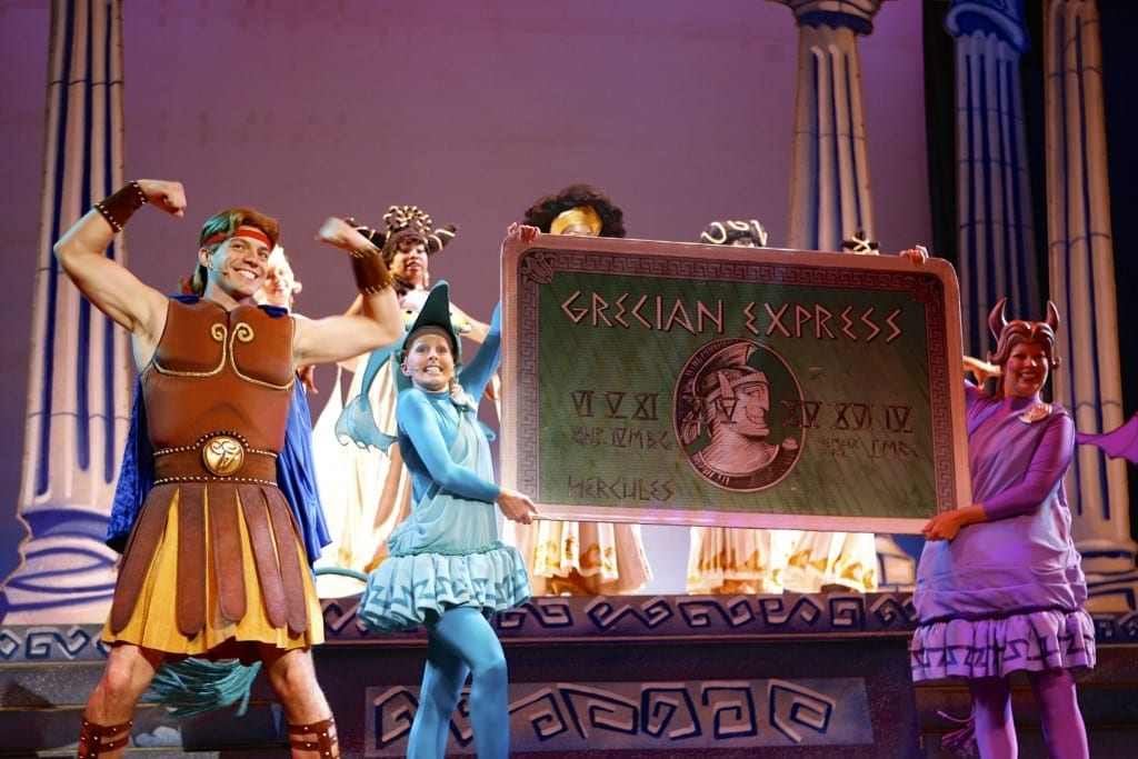 Remembering Hercules The Muse Ical On The Disney Cruise Line