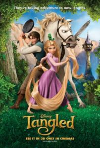 Tangled UK Poster
