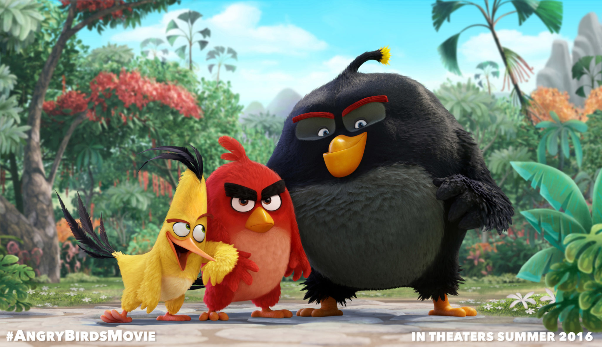 Angry Birds Movie Characters: First Look At Posters For Sony's 'Angry Birds'