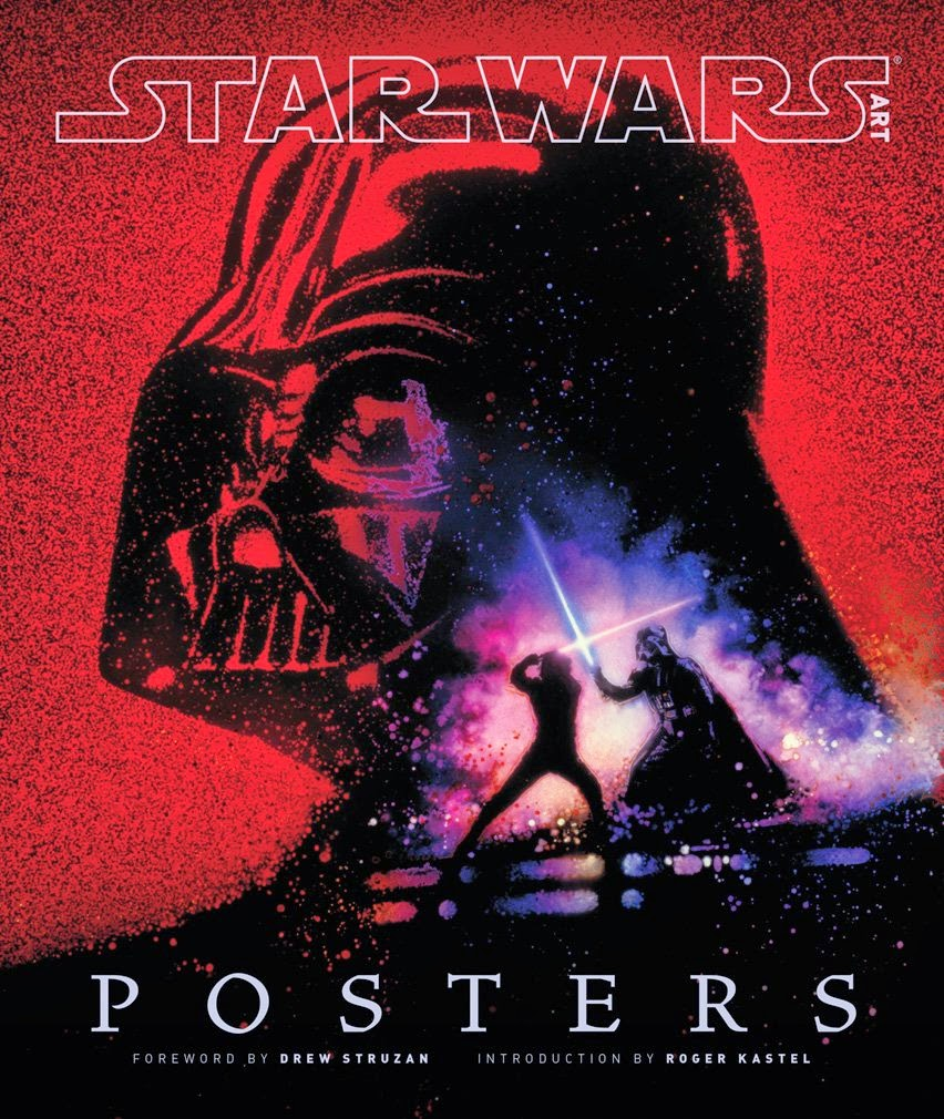 Star Wars Book Cover Art : Art book review star wars posters