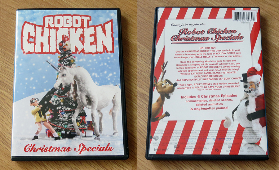 DVD REVIEW] Robot Chicken Christmas Specials | Rotoscopers