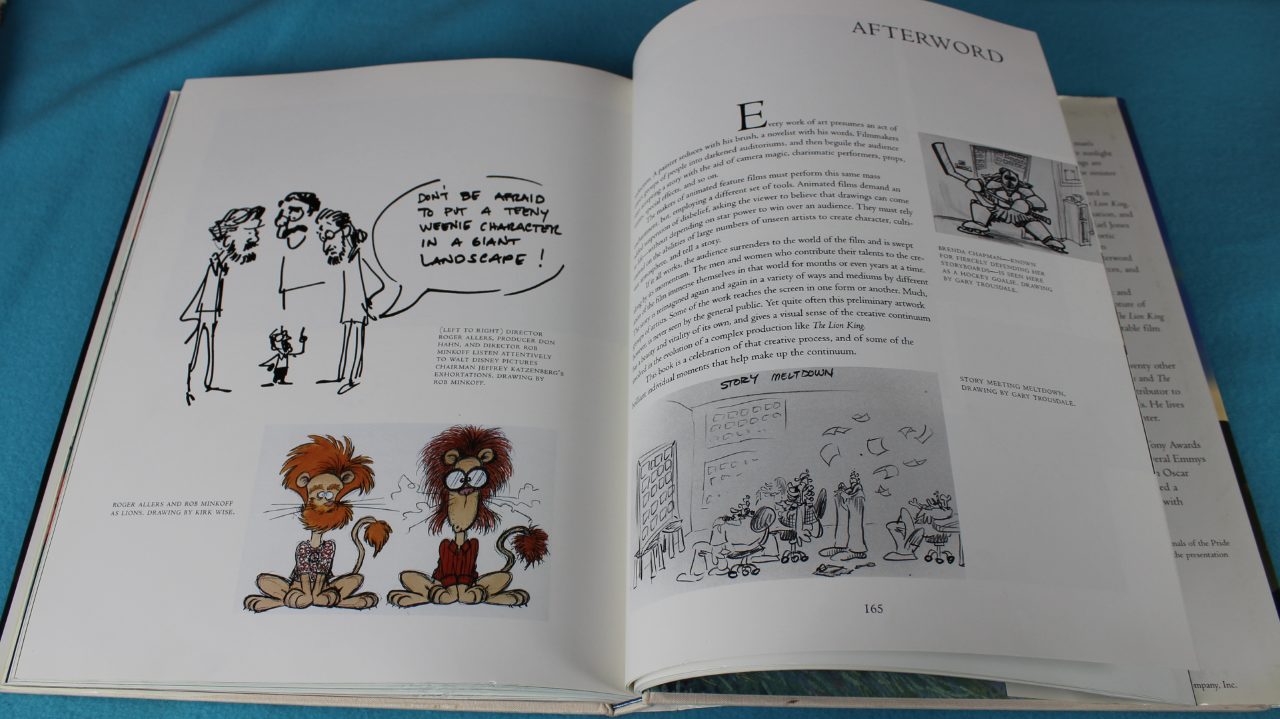 The Art of The Lion King Book Review  Rotoscopers
