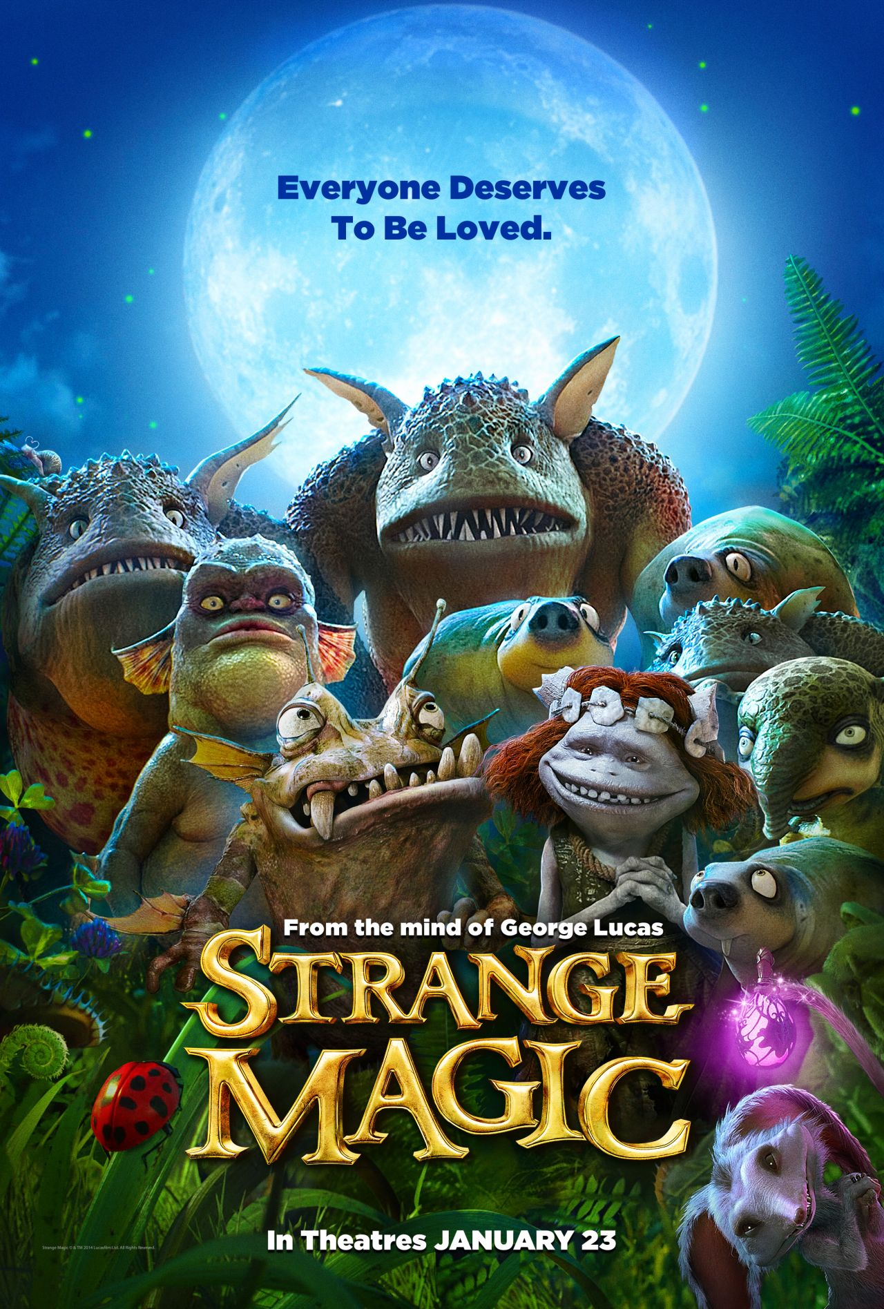 Strange Magic Poster The Disney Backed Animated Movie From Lucasfilm Is Directed