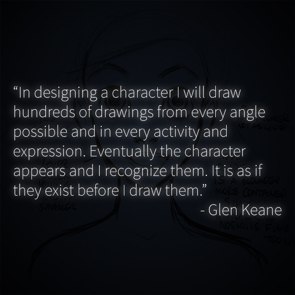 Character Design Quotes : Awesome quotes by disney legend glen keane rotoscopers