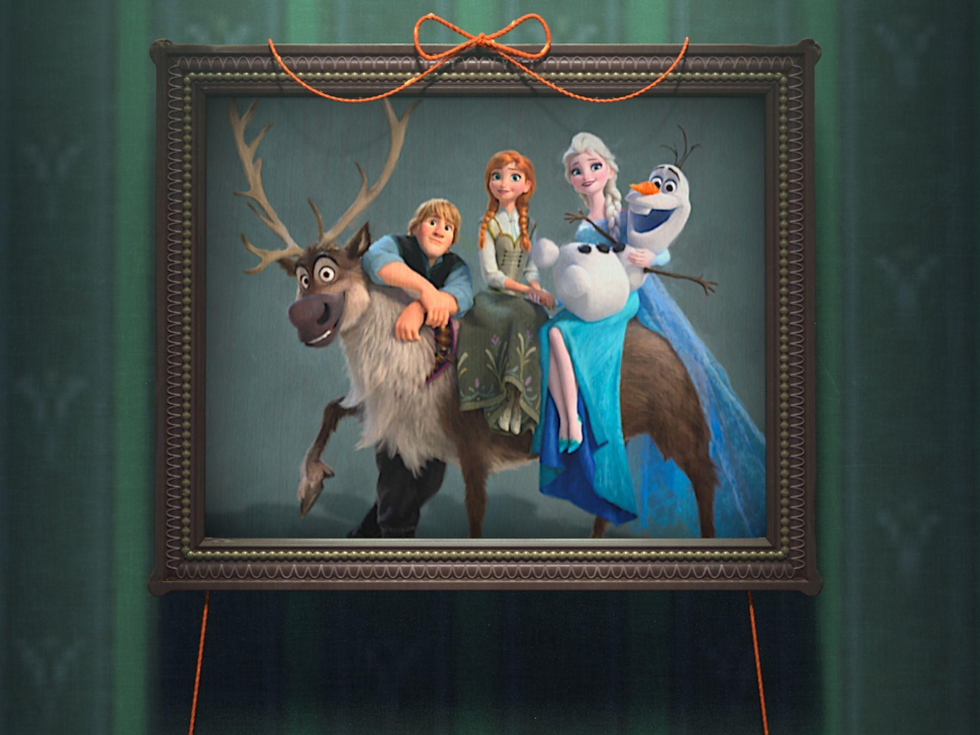写真のアナと雪の女王・主要メンバー