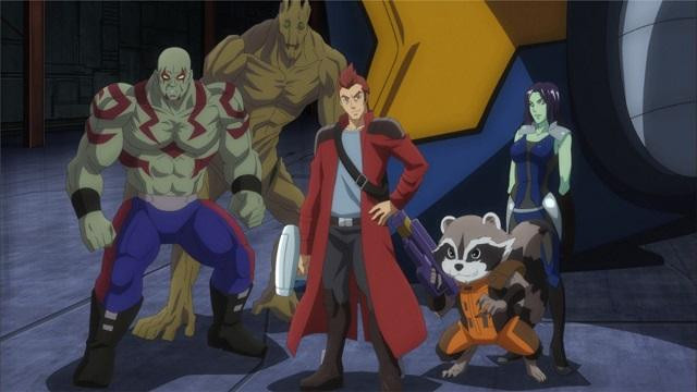 Announce voice cast for guardians of the galaxy animated series