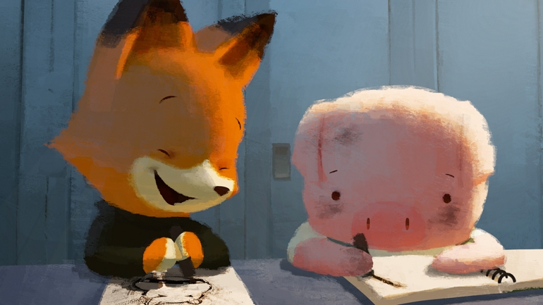 Warner Bros Pictures To Deliver Storks On September 23rd 2016 also Noticia 18532446 also Watch furthermore 2015 Oscar Nominated Shorts Review The Dam Keeper likewise Runaway Brain. on oscar nominated short animated