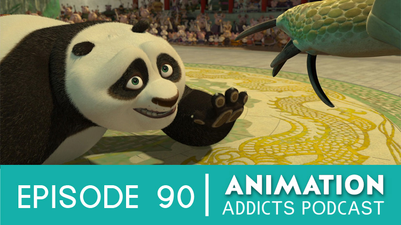 Animation addicts 90 kung fu panda how to train your dragon 90 kung fu panda animation addicts podcast website ccuart Images