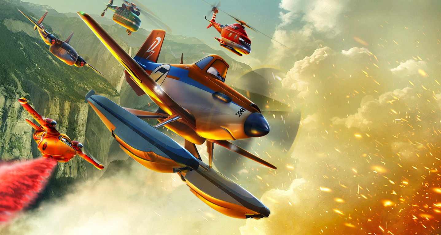 Planes Fire And Rescue Movie Wallpaper