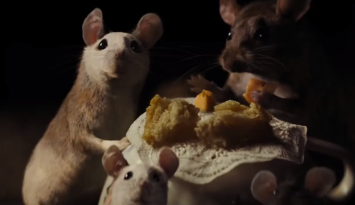 The Mice From The Live Action U0027Cinderellau0027 Were Realistic In Design But  Displayed