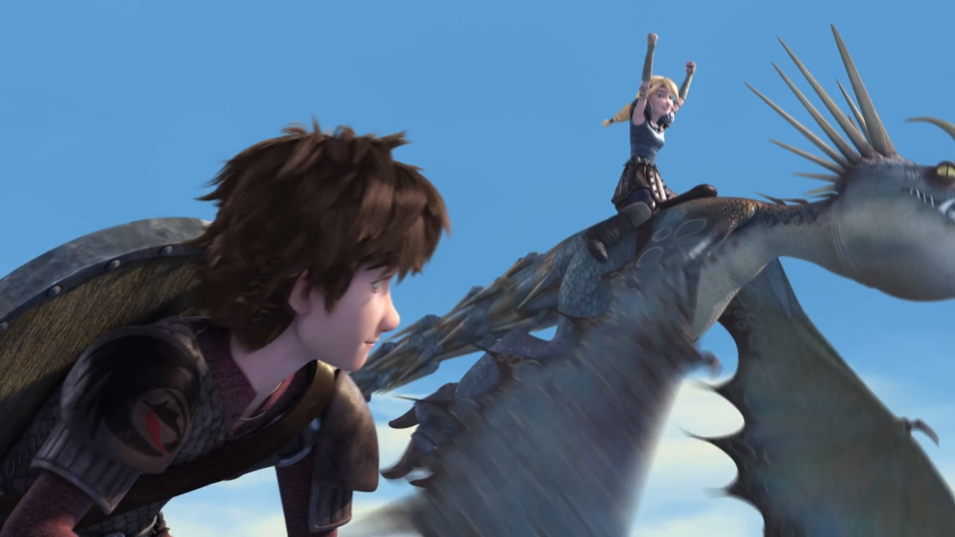 Dragons tv recap race to the edge s3e1 imperfect harmony how to train your dragon 2 astridexcited ccuart Image collections