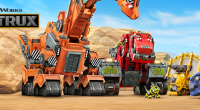 DreamWorks TV debuted the opening credits for its upcoming Netflix Original series, Dinotrux, online today.The opening credits give a first impression at the show's main characters, Ty Rux and Revvit, […]