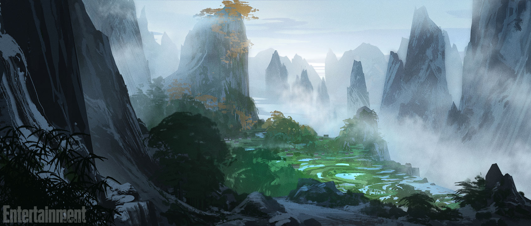 Breathtaking Kung Fu Panda 3 Concept Art Reveals Panda