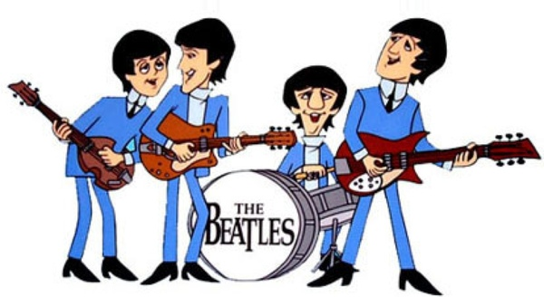 The Beatles animated
