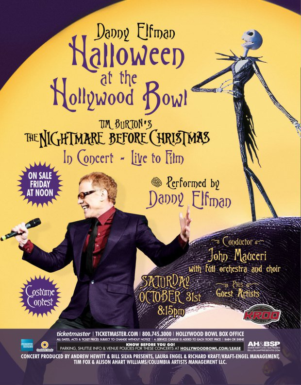 Danny Elfman to Perform 'Nightmare' Songs at Hollywood Bowl ...