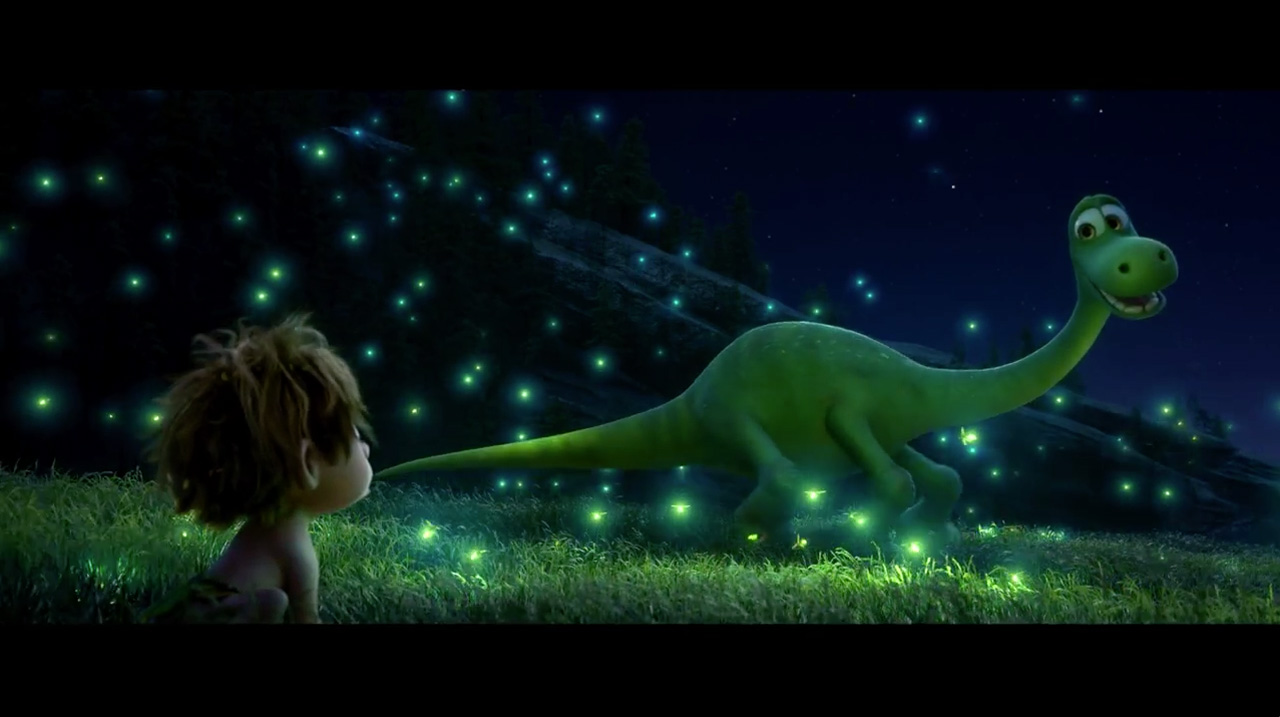 THE GOOD DINOSAUR FULL TRAILER DEBUT Pixar Animated Film