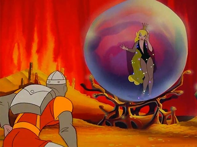 dragon's-lair-princess-bubble