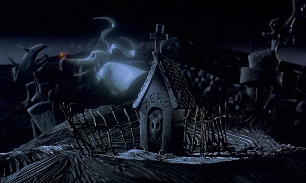 Rotoscopers39 12 days of christmas nightmare before for Zero dog house