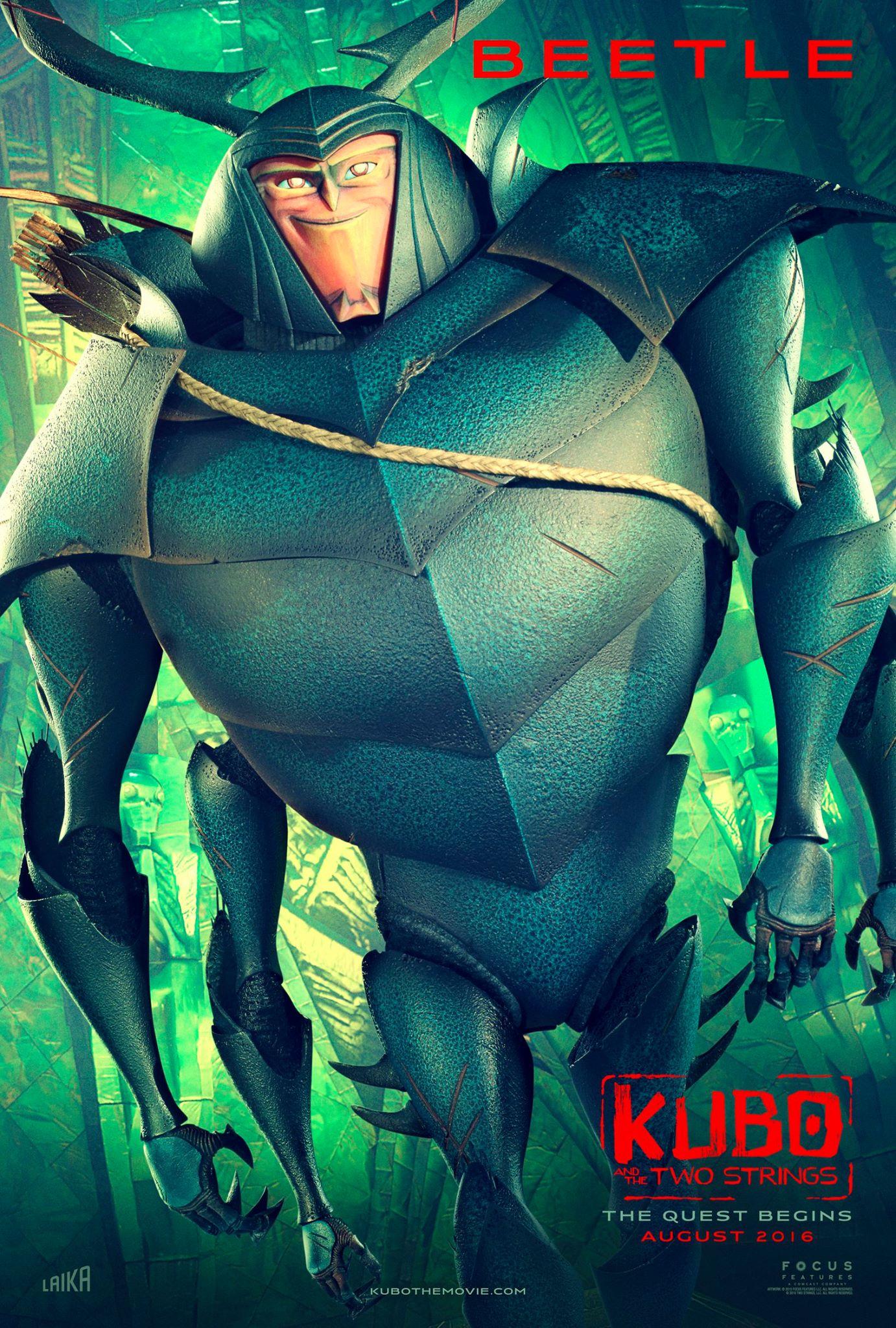 : kubo-beetle-character-poster
