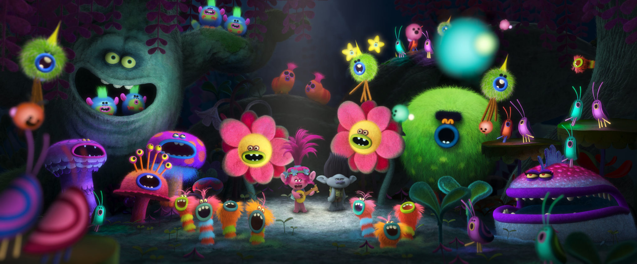 Two New Stills From DreamWorks' 'Trolls' Released Online ... Justin Timberlake Can T Stop The Feeling