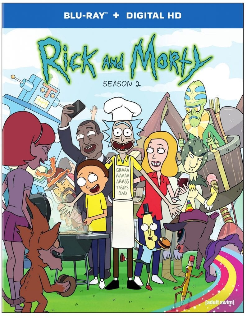 Rick and Morty Season 2 Blu ray Review Rotoscopers : rick and morty season 2 4 795x1024 from www.rotoscopers.com size 795 x 1024 jpeg 188kB