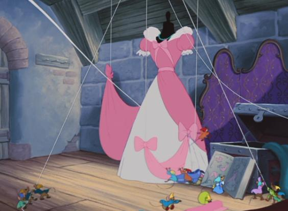 Some Criticize The Character Of Cinderella As Being Bland And Shallow I Disagree Just Look At Mice They Love Her Think That Says Something
