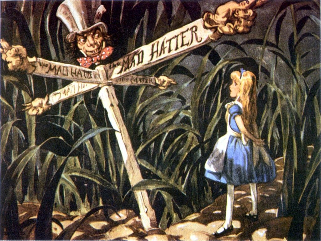 Alice in wonderland a satire?