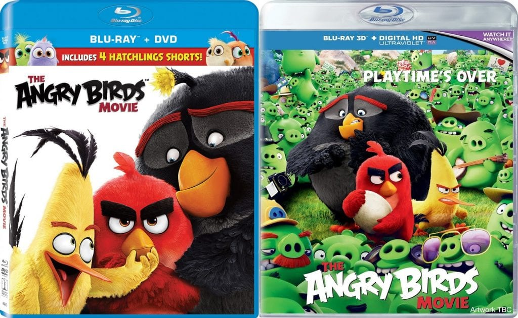 Blu Ray Review The Angry Birds Movie