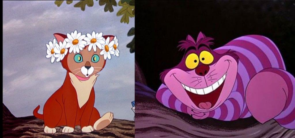 Cheshire Cat Wonderland Gif
