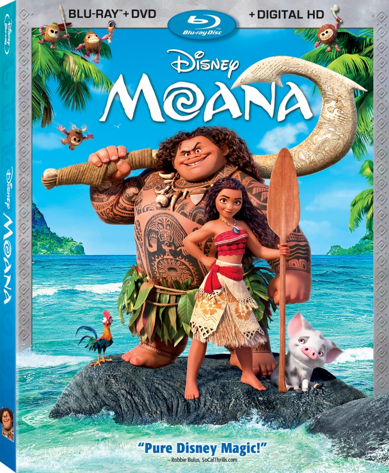 Details For Moana Blu ray Announced 3D Coming Too