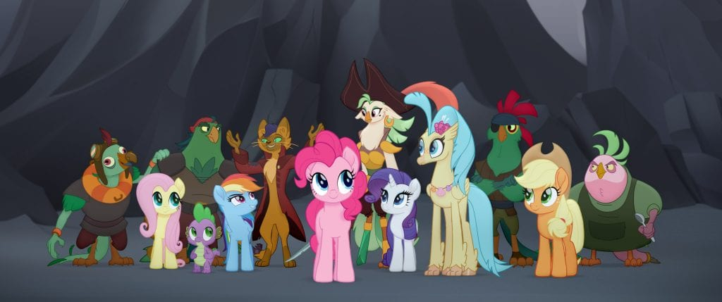 Mega Drop of 'My Little Pony: The Movie' Goodies - Trailer, Title ...