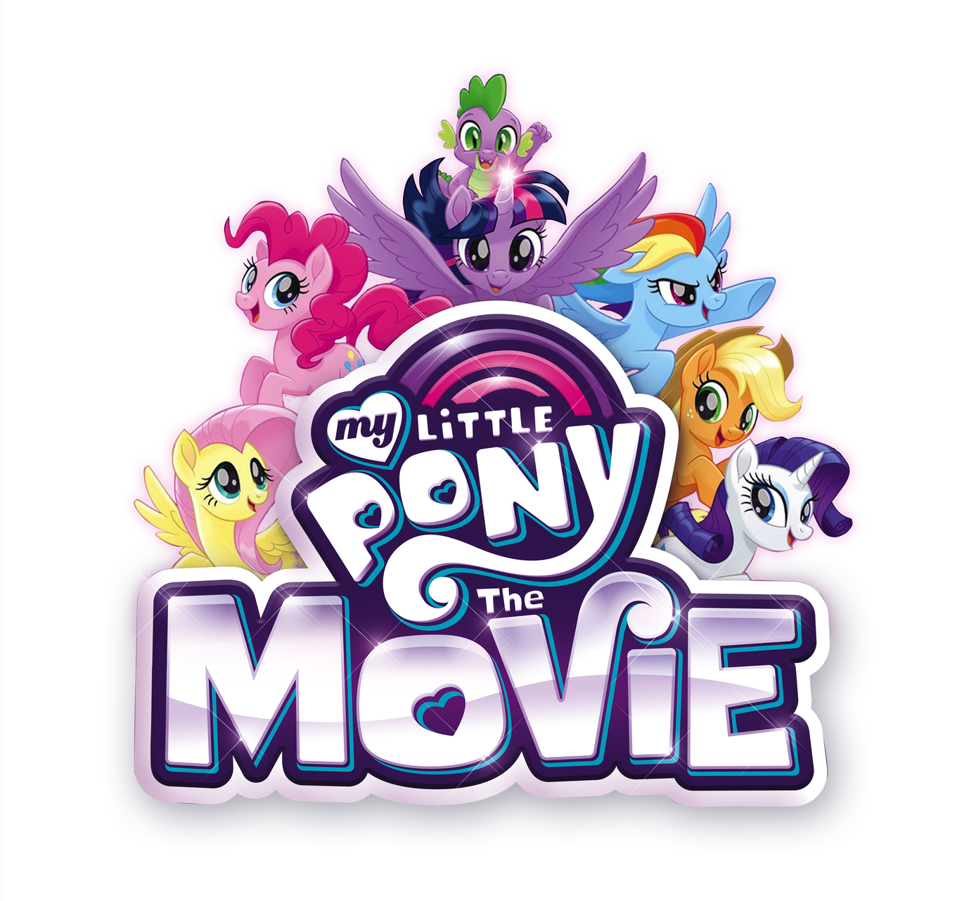 My Little Pony The Movie Title Treatment