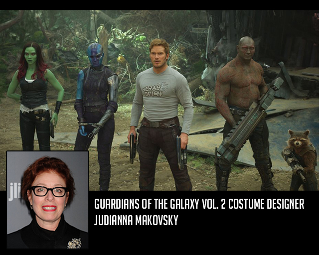 Guardians of the Galaxy Vol. 2 Costume Designer Judianna Makovsky